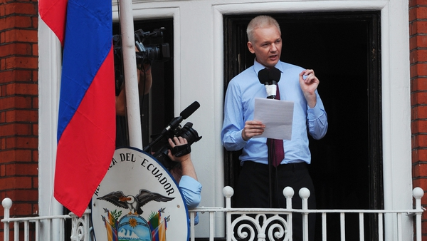 WikiLeaks founder Julian Assange has been in the Ecuadoran embassy for two years
