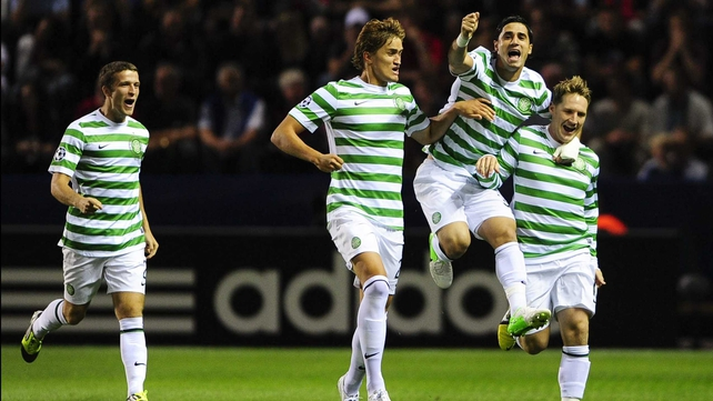 Kris Commons was on target for Celtic as they eased into the next round of the Scottish Cup
