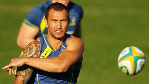Quade Cooper: 'If you are going to pick an attacking player, especially at 10, you sort of want to work on playing attacking rugby'