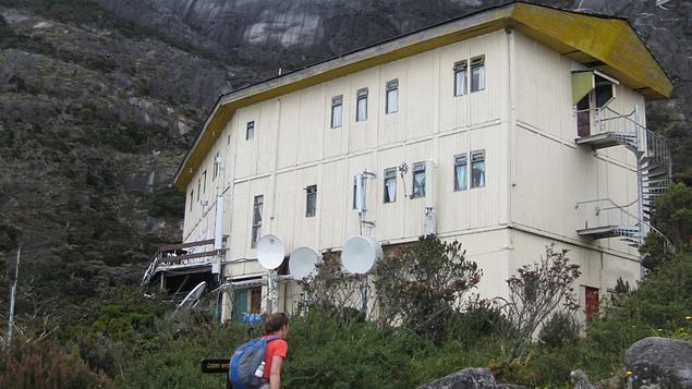 Laban Rata - a cosy mountain hostel