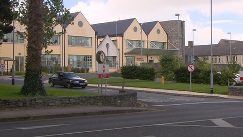 The man died at Naas General Hospital