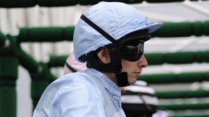 Ryan Moore was riding Cresta Star when they slipped up two furlongs out and came crashing down