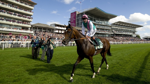 Frankel relished the step up in trip on his first visit to the Knavesmire
