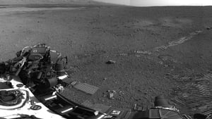 Curiosity's tyre tracks can be seen on the surface of Mars in this image released by NASA