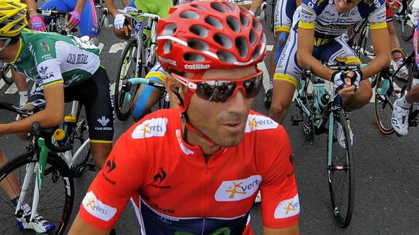 Joaquin Rodriguez holds the lead at the Vuelta a Espana