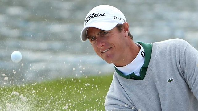 Nicolas Colsaerts needs a top-two finish to earn himself a cup debut and is two off the lead