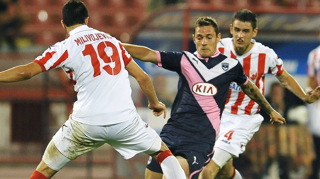 Bordeaux take the momentum into the second leg after a goalless draw with Red Star in Belgrade