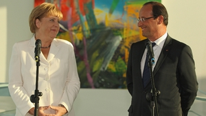 Angela Merkel and Francois Hollande spoke about Greece's request for more time