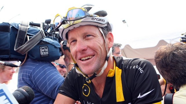 Lance Armstrong has continued to deny that he took performance-enhancing substances during his career