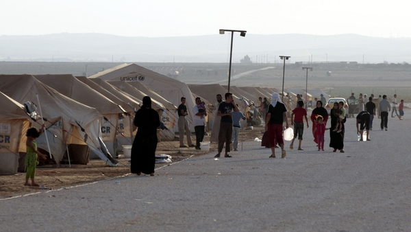 The number of Syrian refugees has already surpassed the projection for the end of the year
