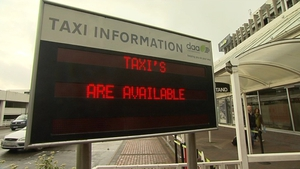 Passengers arriving at Dublin Airport will now be able to get taxis