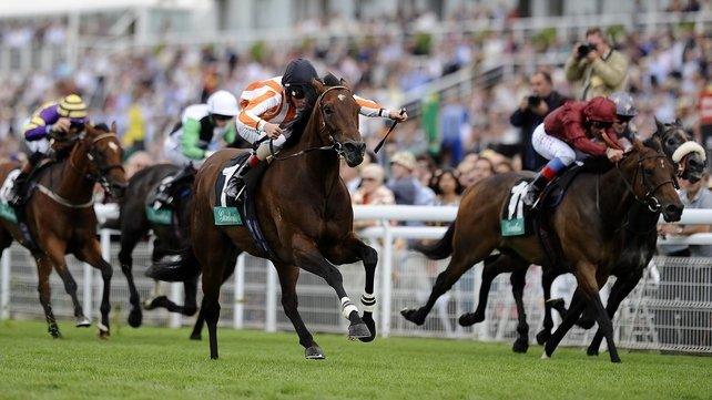 Favourite Ortensia is a best-priced 5-2 for the final start of her European campaign