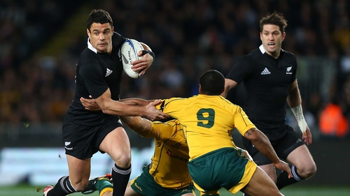 Dan Carter was the star performer for New Zealand