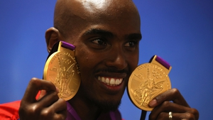Mo Farah's legs are quality enough to win Olympic gold, but it woud appear his ears and hearing capabilities are sub-standard