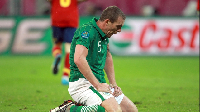 Richard Dunne is unlikely to feature in the Ireland squad for their qualification games with Germany and Faroe Islands