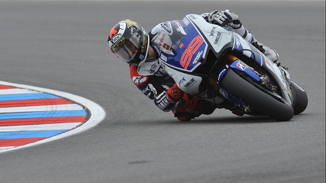 Jorge Lorenzo looks set to extend his championship lead