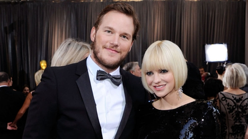 Chris Pratt and Anna Faris pictured in happier times