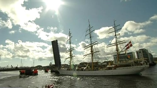 The Tall Ships festival was held in Dublin in August 2012