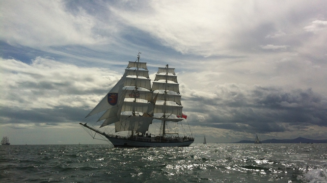 Army said goodbye to Tall Ships with a 21-gun salute
