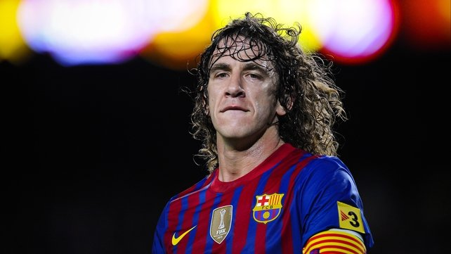 Puyol has played 593 times for the Catalans