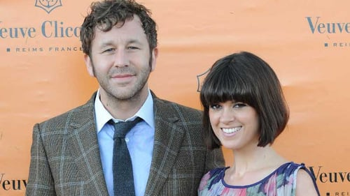 Chris O'Dowd (with wife Dawn): seeking a proper finale for The IT Crowd