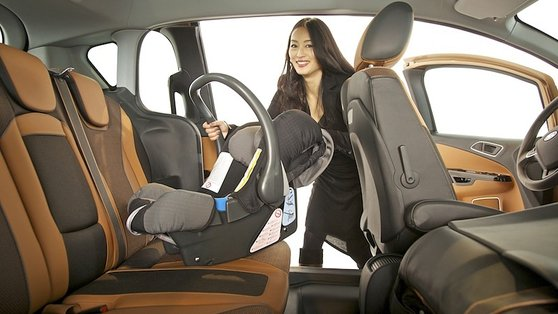 The Ford B Max's cabin is eminently flexible