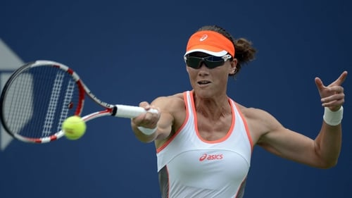 Sam Stosur had an easy first round outing