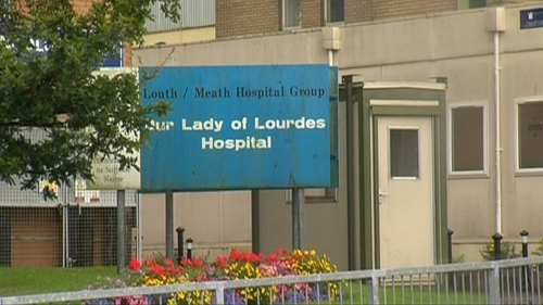 Injured woman being treated at Our Lady of Lourdes Hospital