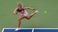 'Not pregnant' Sharapova advances at US Open