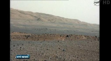 Mars rover beams back new high-res photos