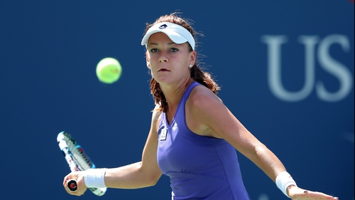 Agnieszka Radwanska lost just two games in her match with Nina Bratchikova