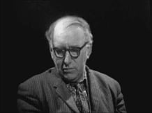 Patrick Kavanagh appearing on 'Self Portrait' 30 October, 1962.