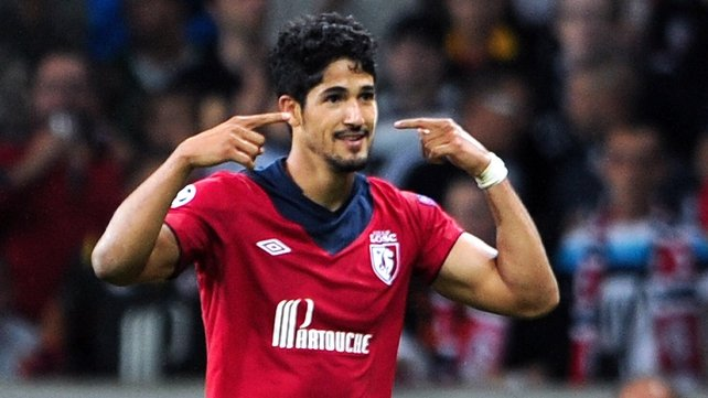 Tulio De Melo's extra-time goal saw Lille claim victory
