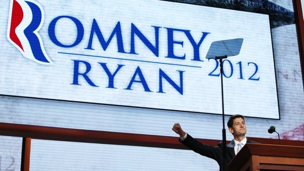 Paul Ryan told delegates that he and Mitt Romney 'are going to solve this nation's economic problems'