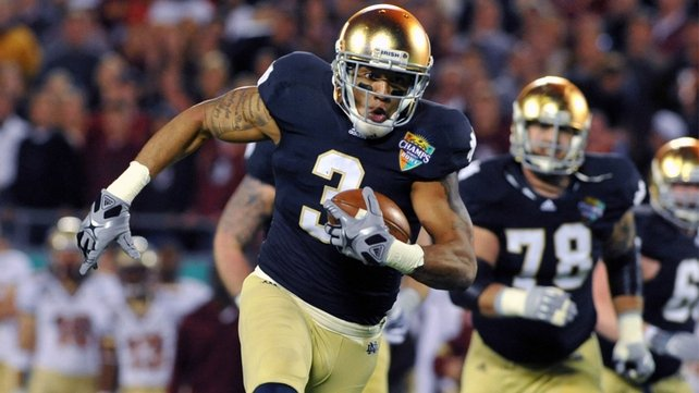 The US College Football 2012/2012 Season kicks off this weekend in Dublin