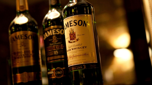Jameson was one of Pernod Ricard's better performing brands during the six month period