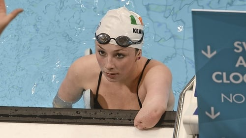 Ellen Keane won the bronze medal in the 100m Breaststroke SB8 Final