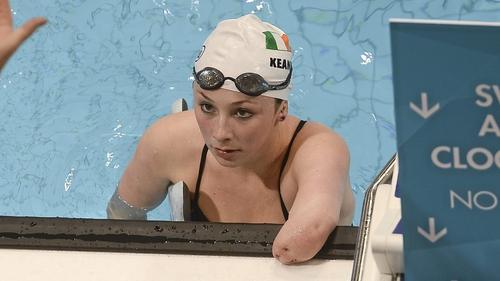 Ellen Keane won the bronze medal in the 100m Breaststroke SB8 Final