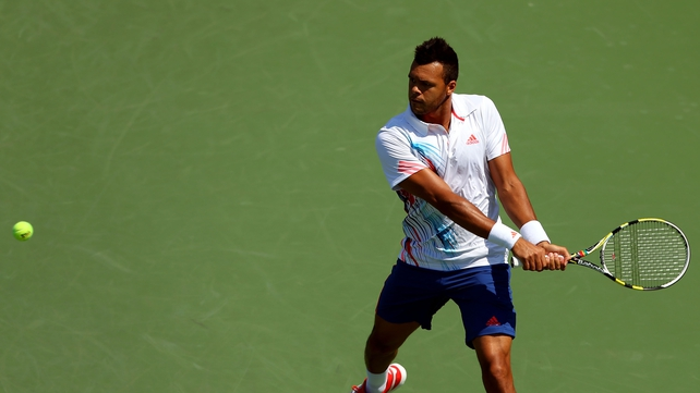Jo-Wilfried Tsonga was no match for an inspired Martin Klizan at Flushing Meadows
