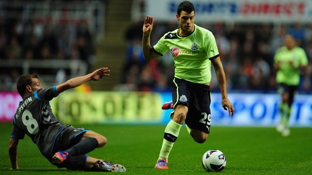 Haris Vuckic's goal was enough to see Newcastle through