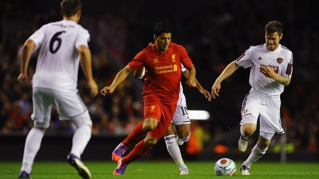Suarez spares Liverpool's blushes