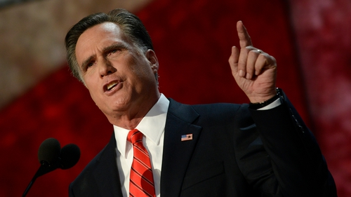 Mitt Romney focused his criticism on proposed military spending cuts