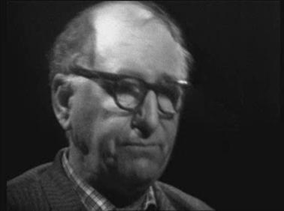 Patrick Kavanagh on the programme 'Self Portrait' broadcast on 30 October 1962.