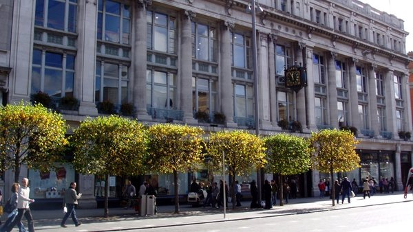 Clerys is best known for its Dublin city centre department store
