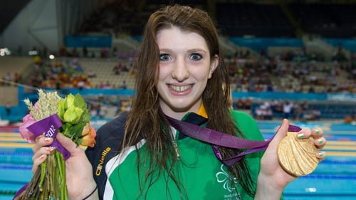Bethany Firth has won gold for Ireland in London