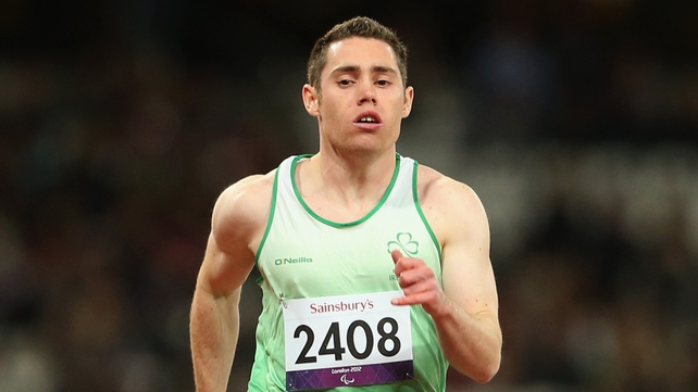 Jason Smyth will look to defend his 200m title in Friday evening's final