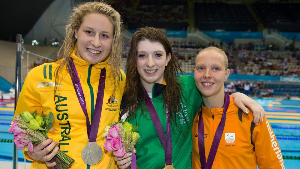 Australia's Taylor Corry took silver, with Dutch swimmer Marlou van der Kulk claiming bronze