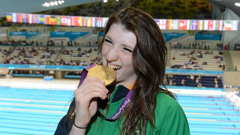 Bethany Firth won the first of Ireland's gold medals