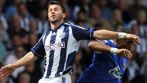 Shane Long was on target for the Baggies