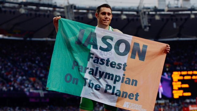 Smyth is now a double Paralympic champion after his victory in Beijing in 2008